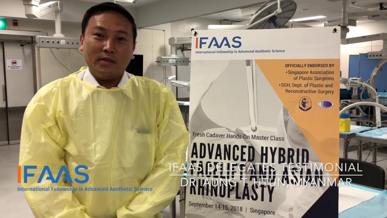 IFAAS Delegate Testimonial - Dr  Sai Z  M  | Myanmar