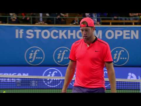 If Stockholm Open Gasto Elias vs Jack Sock