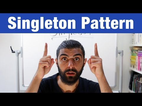 Singleton Pattern – Design Patterns (ep 6)