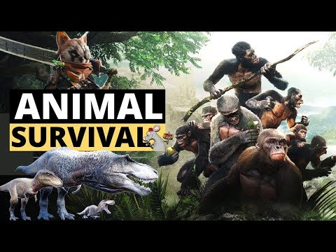 6 NEW ANIMAL SURVIVAL GAMES! Ancestors Humankind Odessey