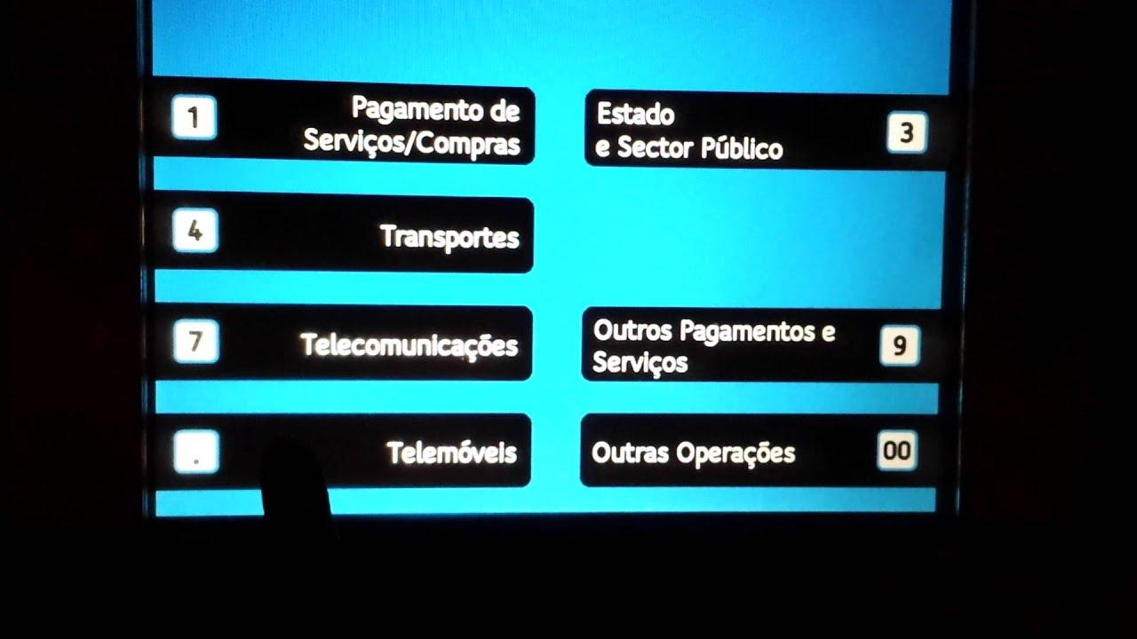 Multibanco no telemovel