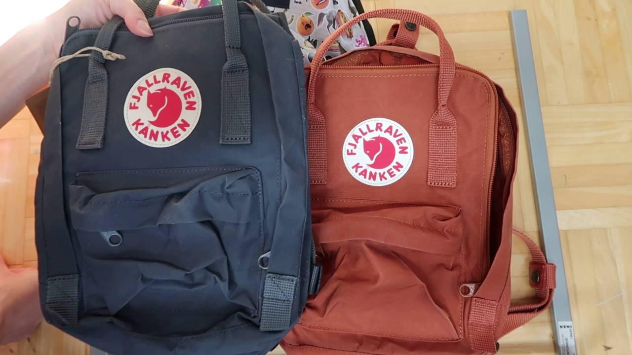 f573d937b7de MINI FJALLRAVEN KANKEN and Jansport Half Pint - Backpack HAUL and reivew -  YouTube