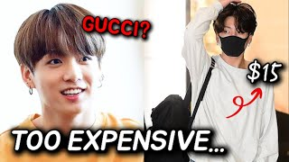 Why Does Bts Jungkook Only Buy And Wear Cheap Clothes