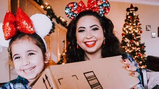 Mother and Daughter Disney Christmas Unboxing from a Special Friend | VLOGMAS DAY 13