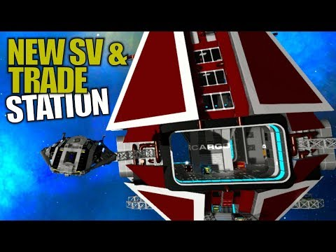 NEW SV & TRADE STATION | Empyrion: Galactic Survival | Let's