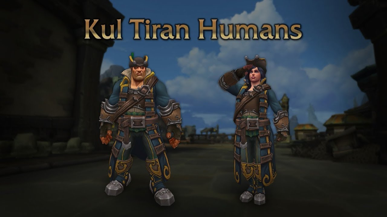 217c7205f Kul Tiran Human Allied Race Unlock Questline 8.1.5 - YouTube