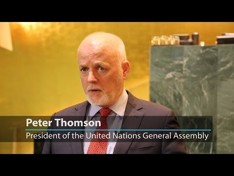 #UNGA President: Core of 71st session will be implementation of #SDGs
