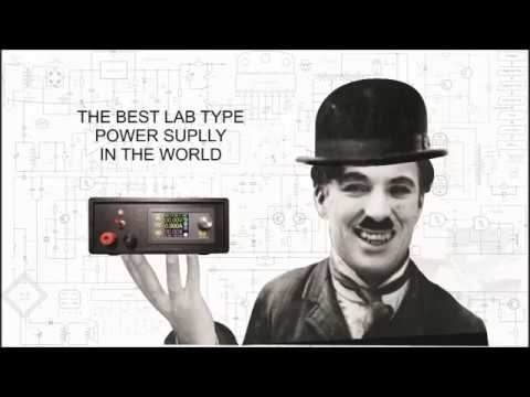 Charlie Chaplin: The Best Lab Like Power Supply In The World