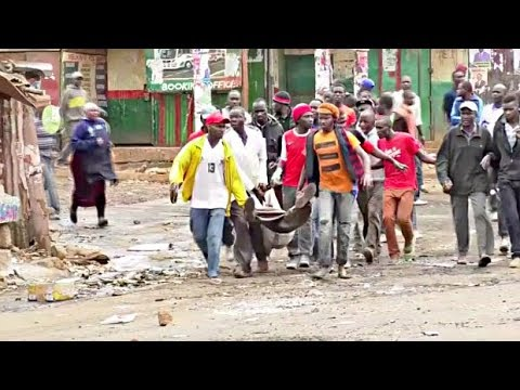 Five Killed in Kenya as Opposition Leader Claims Election Fraud