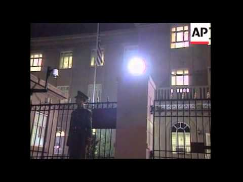 US Ambassador to China returning to embassy in Beijing after latest meeting with the Chinese