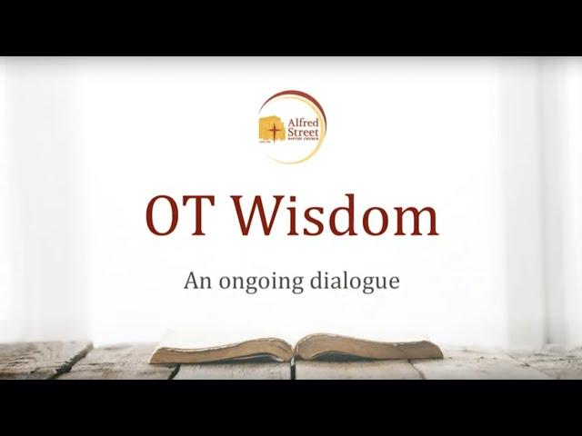"November 12, 2019 | Bible Study | ""OT Wisdom: An Ongoing Dialogue"" | Rev. Dr. Judy Fentress-Williams"