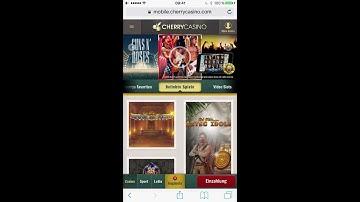 Cherry Casino im Test - Mobil auf iPhone und Android