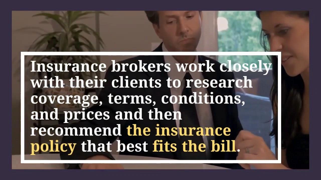 Insurance Broker vs Insurance Agent - YouTube
