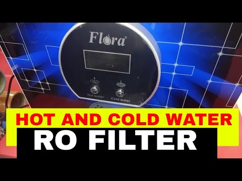 Flora Hot and Cold RO water purifier reverse osmosis water filter