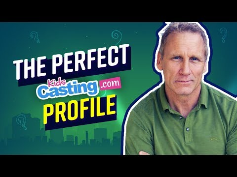 The PERFECT KidsCasting Profile | Lesson From Actor Will Roberts