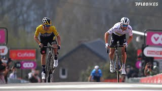 Julian Alaphilippe Flies Past Primoz Roglic At Fleche Wallonne