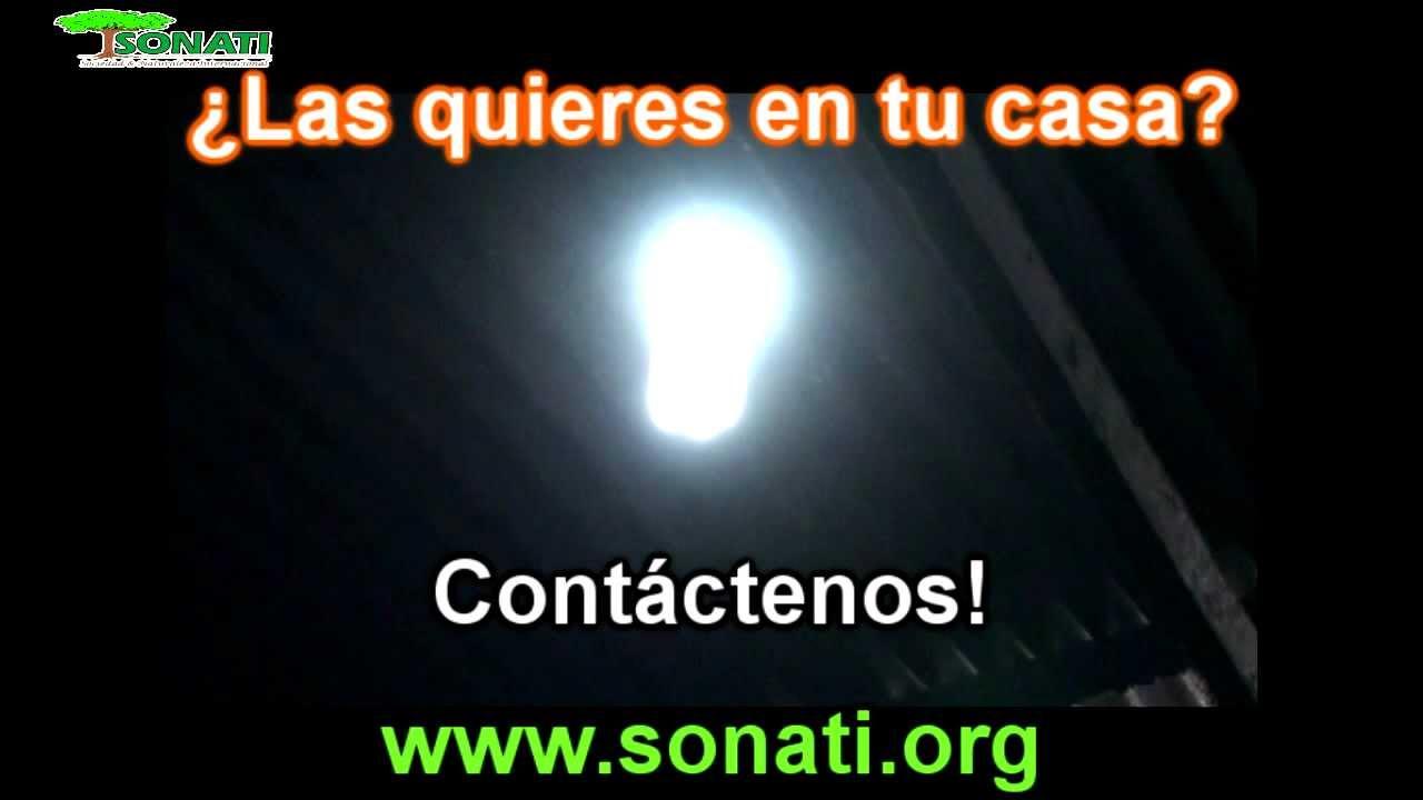 Sonati l mparas solares de botellas youtube - Lamparas solares de led ...