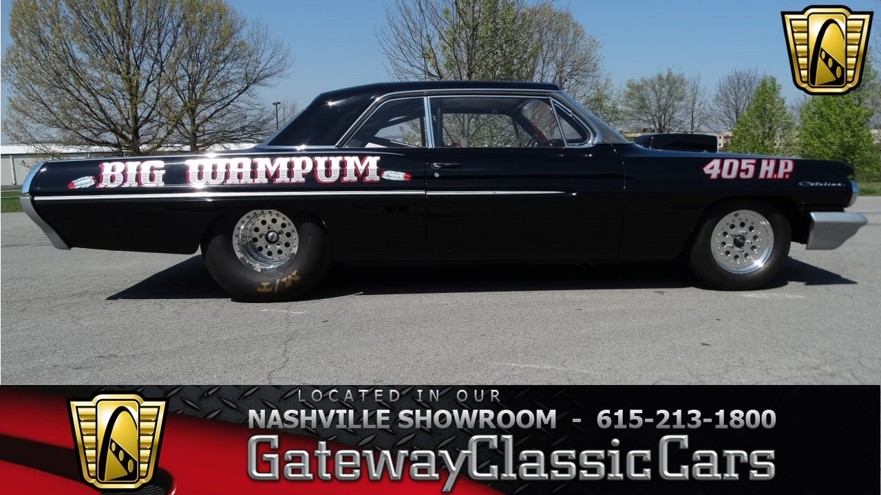 1962 Pontiac Catalina - Gateway Classic Cars of Nashville #202 ...