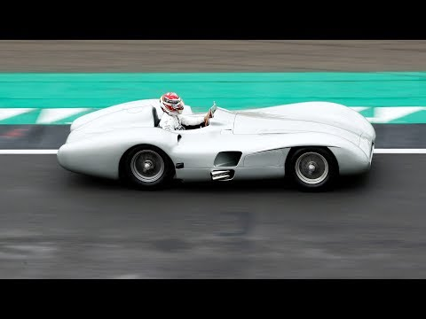 Taking the Famous Mercedes W196 for a Spin with Lewis