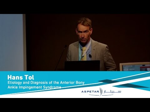 Etiology And Diagnosis Of The Anterior Bony Ankle Impingement Syndrome By Dr Hans Tol