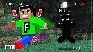 HE FOUND NULL IN MINECRAFT! (Scary Minecraft Prank)