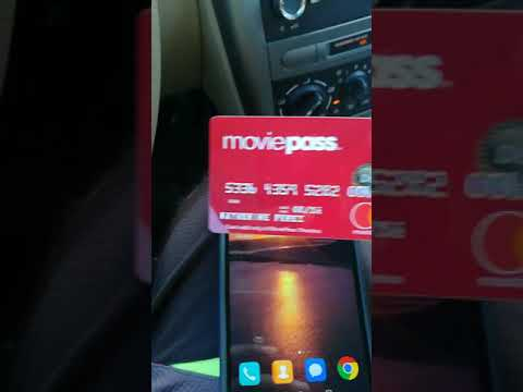 Moviepass first time