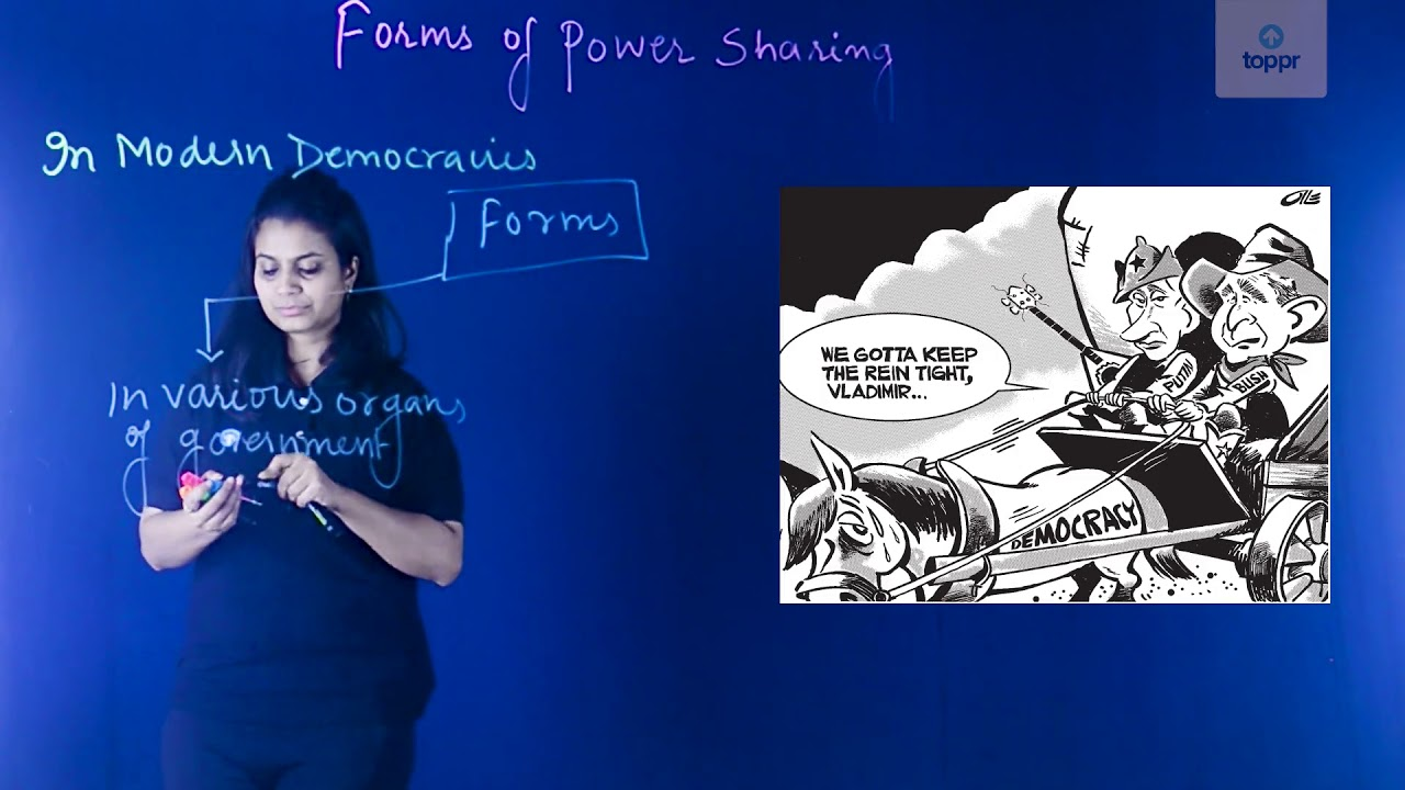 Power Sharing: Concepts, Terms, Story of Belgium & Sri Lanka, Examples