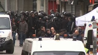 Raw: Two Dead After Raids Target Paris Mastermind