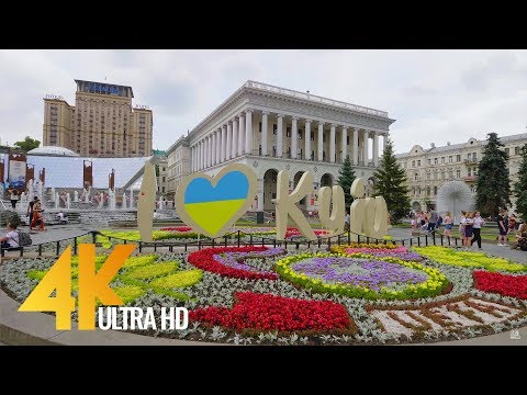 4K Kiev Walking Tour - Europe Destinations - Kiev, Ukraine