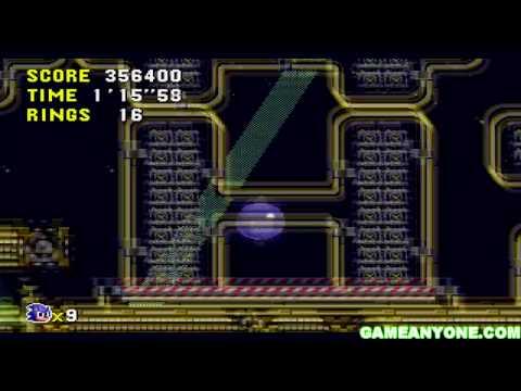 Sonic CD - Stardust Speedway Zone Act 1
