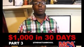 $1,000 in 30 Days with MCA Using Craigslist Ads