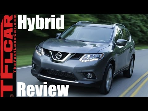 2017 Nissan Rogue Hybrid First Drive Review: Nissan Takes Aim at the Toyota RAV4 Hybrid