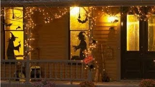 Witch Outdoor Halloween Decorations