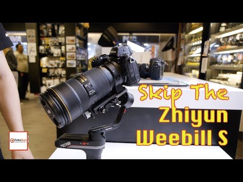 Zhiyun WeeBill S Not For Nikon Z User