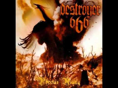 Destroyer 666 - I Am The Wargod (with lyrics)
