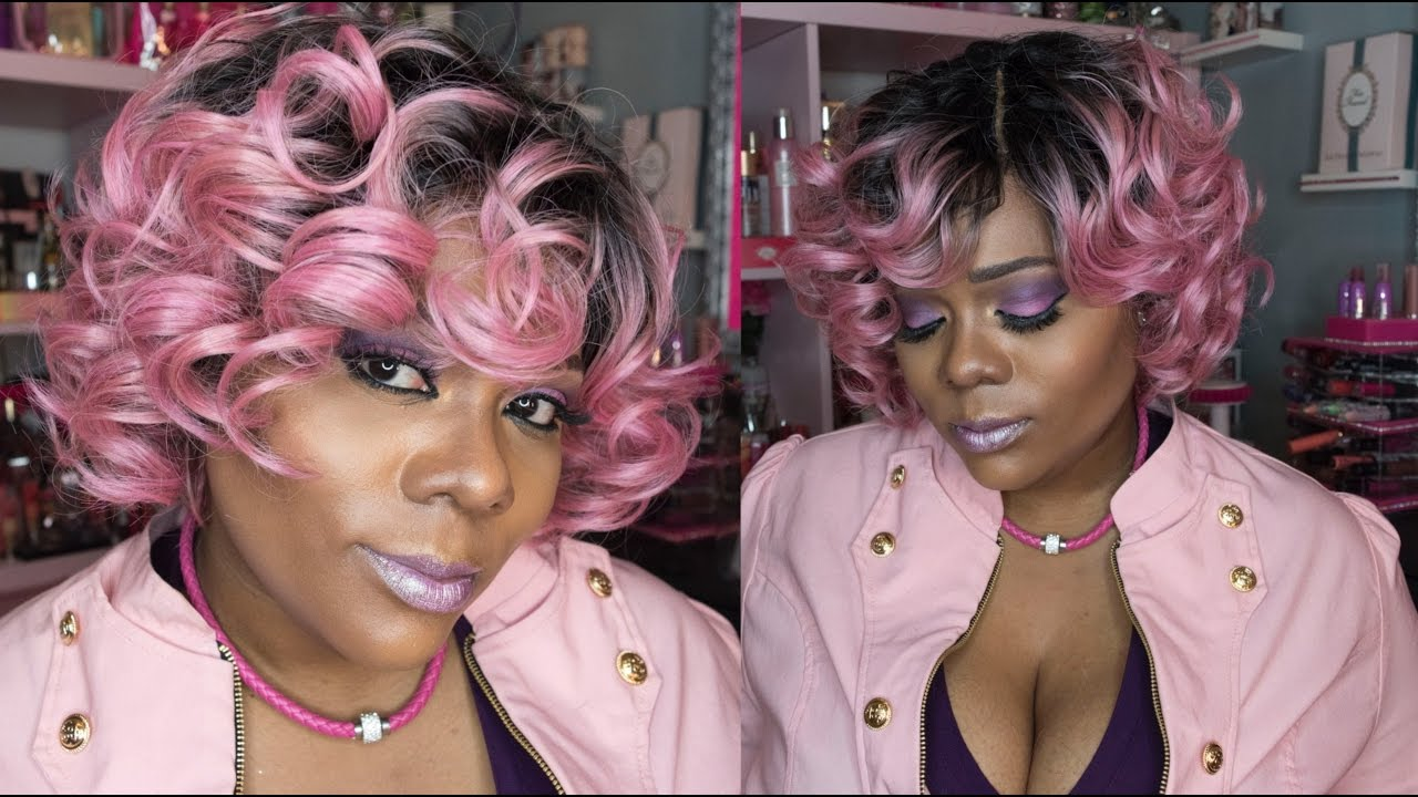 Model Model Pose Pink Roll Otpinkgold Hair Review Youtube