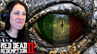 RED DEAD REDEMPTION 2 Walkthrough Part 33 - ITALIAN FOOD
