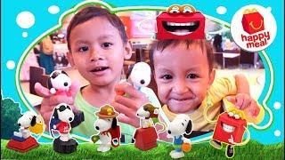 Berburu Happy Meal Terbaru Snoopy Peanut McDonald Bagian ke-2 | Mcd happy meal snoopy indonesia