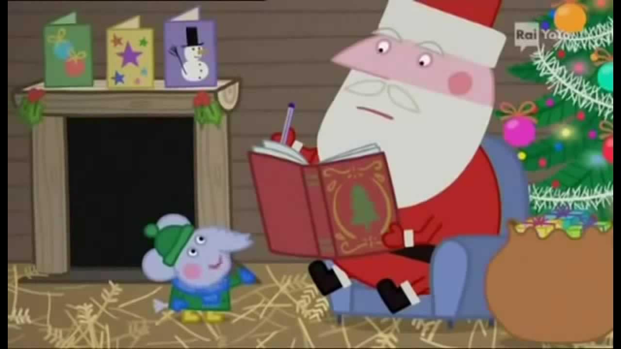 Peppa Pig Natale.La Capanna Di Babbo Natale Peppa Pig Ep 51 Terza Stagione Youtube