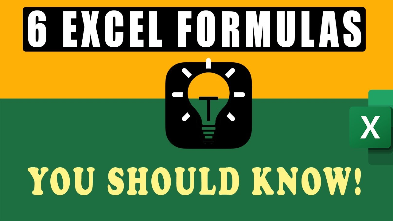 Amazing Excel Function & Tips