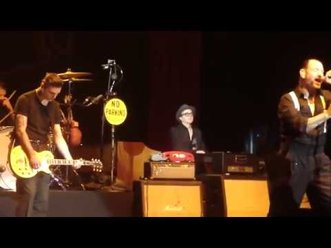 Social Distortion - Prison Bound Live (HD) with Lyrics - Mike Ness w/ Julian Ness
