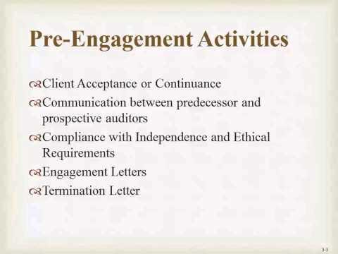 Pre Engagement Activities
