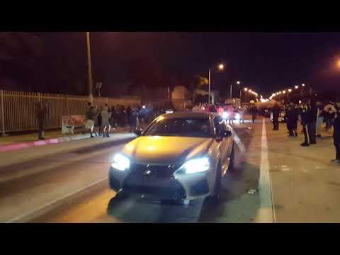 Lexus GSF VS. MUSTANG coyote in Mexico 1320 runs