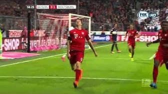 [Bundesliga 2015/2016] Bayern Monaco vs Wolfsburg 5-1 - 6^ giornata