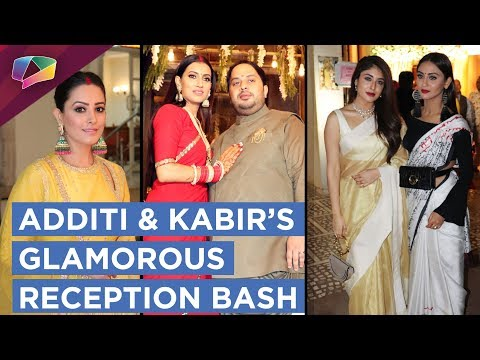 Additi Gupta And Kabir Chopra Have A Star Studded Wedding Reception Bash | Exclusive