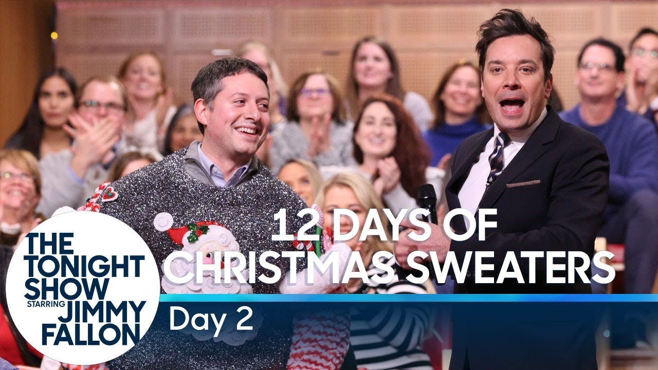 12 Days of Christmas Sweaters 2019: Day 2