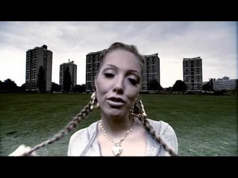 Aisleyne as a chav on Charlie Brooker