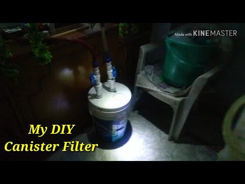 DIY Canister Filter For Aquarium - Part 1 - Built