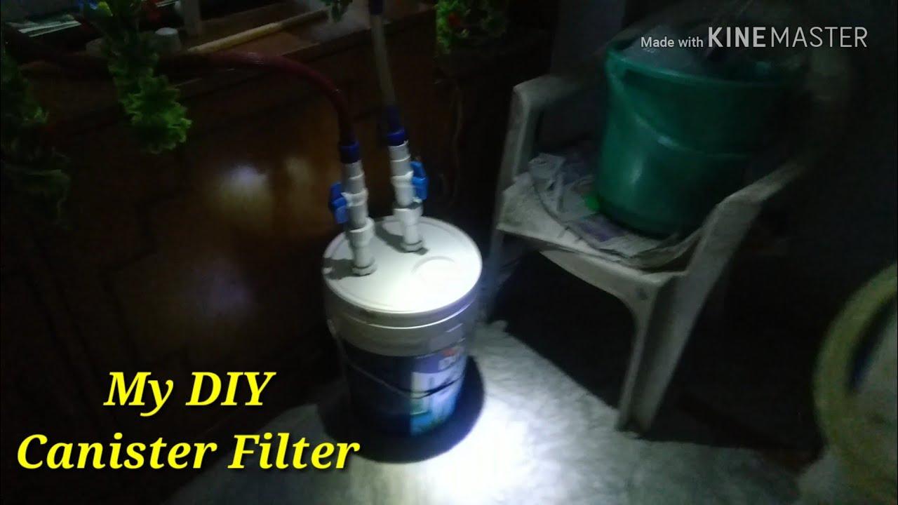 Diy Canister Filter For Aquarium Part 1 Built