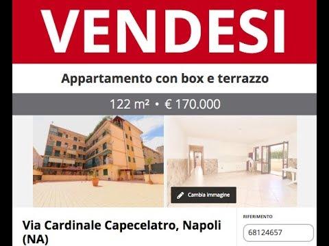 Appartamento In Vendita A Napoli Con Box E Terrazzo Via Cardinale Capecelatro